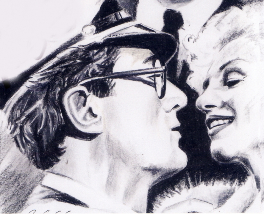 Marilyn Monroe, Tony Curtis by Annika